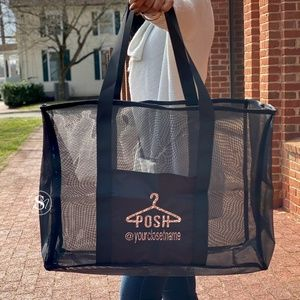Oversized Utility Tote Posh Boss Carry-All Bag